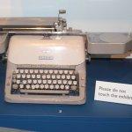 Typewriter that many typists used