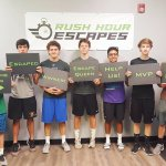 These guys almost escaped with the Inheritance! Great teamwork!