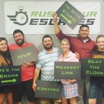This team escaped with the crown in Medieval Heist in awesome time!! Great job!