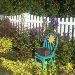 Sue's beautiful garden.