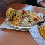 Taco Enchilada combo