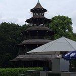 Foto de Biergarten am Chinesischen Turm