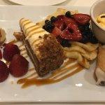 Birthday dessert platter