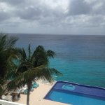 View from our balcony Miramar Condos