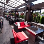 Hello summer!  Have a drink or any appy on our beautifully appointed patio.