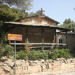 Along a path on Philopappos Hill