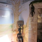 The statuette behind the door in room 304 (baobab)
