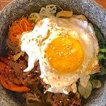 Spicy bulgogi hot stone bowl