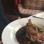 Lamb main course