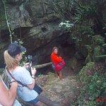 descente a la grotte