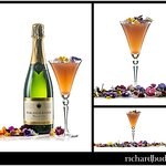 Furleigh Estate Blanc de Noirs cocktail