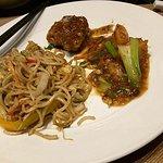 Seafood Noodles, Scallops XO, Black Bean Sea Bass