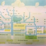Room map in hotel..