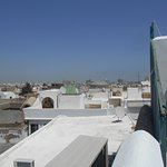 View of Tunis from the rooftop