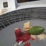 Rhubarb, Ginger, Sorrel & almond