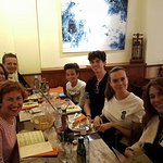 Family lunch in Sitges