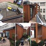 Eine tolle Idee, Container über den Dächern von Berlin, traumhaft. 😉