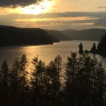 Photo Credit PR- Spring Sunset Across Lake Vyrnwy from our Premier Room Balcony