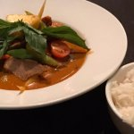 Grilled Beef Red Curry