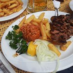 Kreta Teller (vom Mittagsmenü)