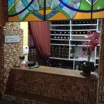 Cork wall wine storage
