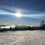 Uncrowded, wide slopes, Trysil