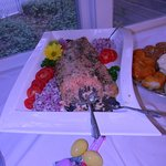 Continental breakfast buffet - House smoked salmon with all the toppings