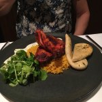 Beautifully presented food - all delicious