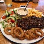 Steak is amazing.