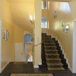 Escalier donnant à l'appartement