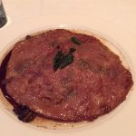 A disappointing saltimbocca