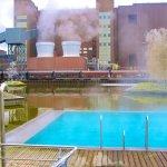 Außenpool des Hotels Ritz Carlton Wolfsburg