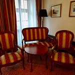 Pleasant Sitting Area in Our Deluxe Room