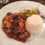 Mushrooms & Tofu in Szechuan sauce