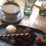 Warm Chocolate Brownie