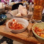 A great selection of Tapas with bread