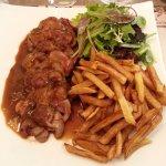 Rognons de veau et ses super frites