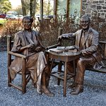 FDR Presidential Library And Museum - Eleanor and Franklin Roosevelt