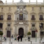 Royal Chancellery, Plaza Nueva in Granada © Robert Bovington