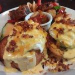 Avocado benny, the breakfast club