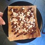 Un classique: Chocolat noir maison et amandes effilées