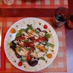 Salade du moment et son Breizh Cola