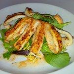 Grilled Calamari starter