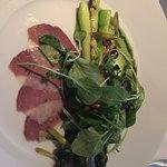 Asparagus & duck