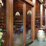 Lambert Bridge private tasting room