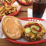 Wurst burger