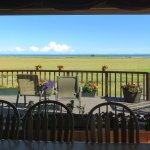View from the community dining room towards the Cook Inlet.