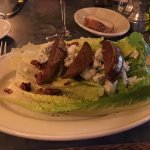 Underwood pear and romaine with bleu cheese salad