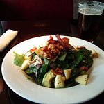 Roast ABF Chicken Salad, lekker eten en vlotte, vriendelijke bediening