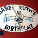 Birthplace shrine sign